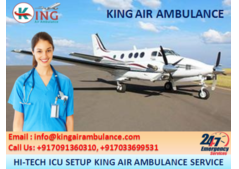 Top & Advanced Air Ambulance Services in Indore-King Air Ambulance