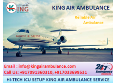 Cost-Effective Air Ambulance Services in Jamshedpur-King Ambulance