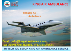 Choose the Best Air Ambulance Services in Ranchi-King Air Ambulance