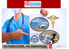 Get Safe Transportation Service by Medivic Air Ambulance Chandigarh