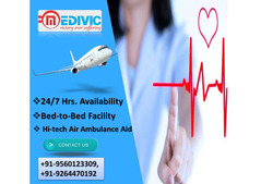 Quick Avail at Low-Cost Air Ambulance Daman and Diu by Medivic