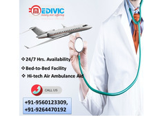 Choose Cost-Effective ICU Air Ambulance Dibrugarh by Medivic