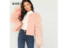 Girls definitely loves pink, how about jacket in pink?