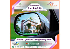 Gated Community Villas near Bowrampet | Vajradevelopers