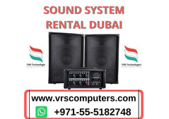 Communication in School with Sound System Rental Dubai