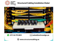 Structured Cabling Installation Providing Company in Dubai