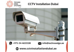 Get Protected your Business  with CCTV Installation in Dubai
