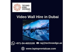 Why to Choose us for Hiring Video Wall in Dubai?