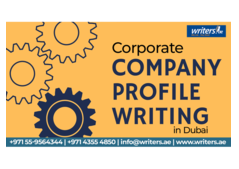 Corporate Company Profile Writing Service in Dubai Call: 056-9173311