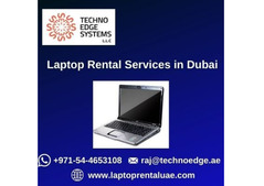 Why to choose us for Laptop Rental Services in Dubai?