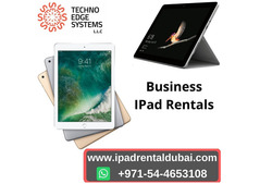 Ipad Rental Dubai For Business Meetings And Travel