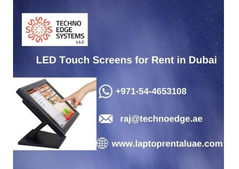 Why Choose us for Renting LED Touch Screens in Dubai?