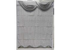 Blackout Roman Blinds With Design