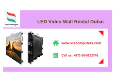 Experts in Commercial LED Video Wall Rentals in UAE