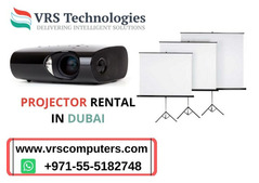 Projectors and Screens Rental in Dubai and UAE