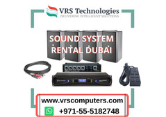 Outreached Communication With Sound System Rental In Dubai