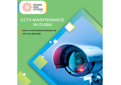 Advanced CCTV Maintenance in Dubai