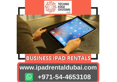 Ipad Hire For Your Business Events In Dubai