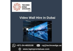 Hiring Video Wall for Business in Dubai