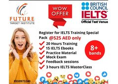 IElTS Training at 525 AED only at Future Target Institute