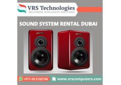 Quality Sound System Rentals Dubai At Affordable Cost