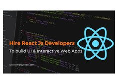Hire React JS Developers To Real Time Web Applications - Employcoder