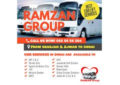Professional Car Lift / Pick Up & Drop Service From Sharjah