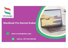 Weekly and Monthly Apple MacBook Hire in Dubai