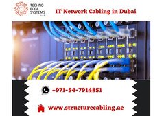 Standard IT Network Cabling Services in Dubai