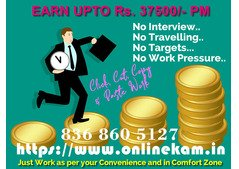 ONLINE WORK OPPORTUNITY ANY ANY TIME ANY WHERE !!!