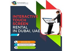 LCD and LED Touch Screen Rentals for Events in UAE