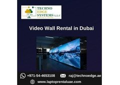 Renting Video Wall for Business in Dubai