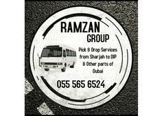 Pick AND drop serviceS from Sharjah TO Dubai - DIP, IMPZ