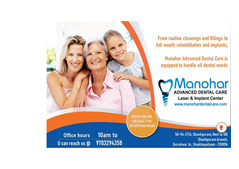 best root canal treatment in vizag  Manohar dental care