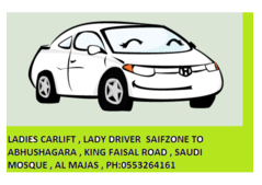 Ladies transportation saifzone  contact 0553264161  9 am to 6 pm