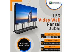 Professional LED Video Wall Rentals in UAE