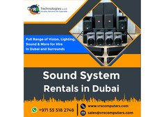 Sound System Rental Service in Dubai at Affordable Price