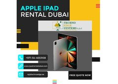 Renting iPads in Dubai for your Business
