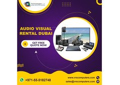 Complete Audio Visual Equipments For Your Event On Rent in Dubai