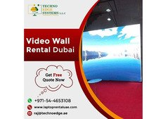 Want To Set Up A Video Wall Rental Dubai For Any Event?