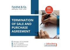 Sales and Purchase Agreement advisory