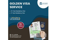 Golden Visa Service - 5 years and 10 years Residency Visas- call us +971553701232